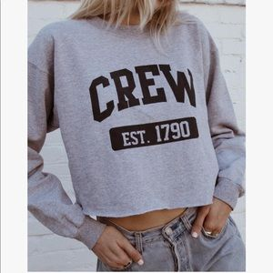 •Brandy Melville• Cropped Sweatshirt